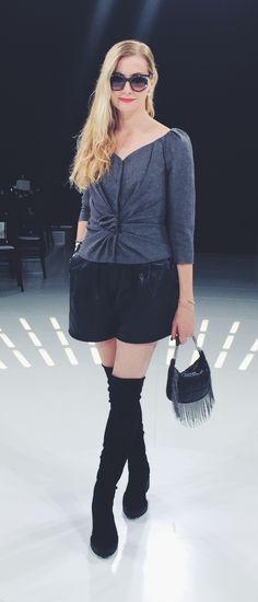 Lisa Marie McComb @lmcx at Dior Spring 2015 RTW
