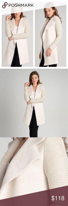 Vanilla Love Token Knot Jacket Long Vanilla Knit Jacket!  Available in XS, S, M, & L.  100% Acrylic Love Token Sweaters