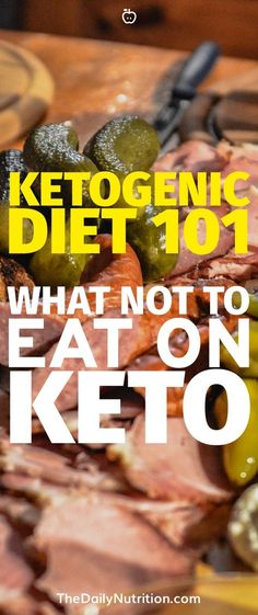 Trying to figure out what you can and can't eat on keto? Here are the foods that you need to stay away from to succeed on the ketogenic diet. Diet Ketogenic Diet: What Not to Eat on Keto Ketogenic Diet Plan, Ketogenic Diet For Beginners, Keto Diet For Beginners, Keto Meal Plan, Diet Meal Plans, Ketogenic Recipes, Diet Recipes, Egg Recipes, Ketogenic Breakfast