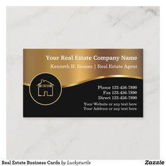 Shop Real Estate Business Cards created by Luckyturtle.