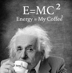 Buongiorno!!! Il lunedì è un trauma??? Seguite i consigli di Albert Einstein #ilcultodelcaffè