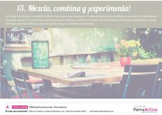13/50 Mezcla, combina y ¡experimenta! #50NotasParaEmprender #CanvaActiva