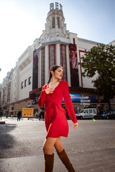 Robe Porte-feuille rouge coquelicot http://poldine-paris.fr/ Photo: Nidimages Works