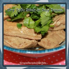 Dry Tofu Stick in Soy Sauce I ~ Simple Recipes Dot Me