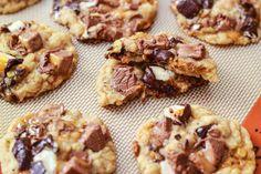 Brown Butter Milky Way Cookies