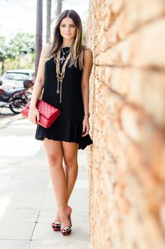 Thassia Naves - Look Black