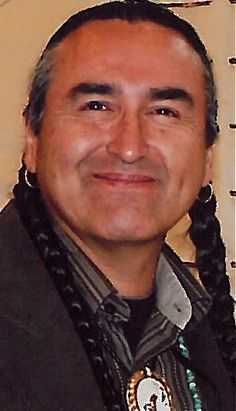Lakota spiritual leader, speaker and educator dedicated to restoring indigenous forms of worship to native people.