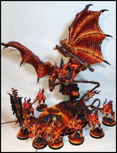 Warhammer 40000, Warhammer Figuren, Warhammer 40k Figures, Warhammer Paint, Warhammer Models, Warhammer 40k Miniatures, Warhammer Fantasy, Warhammer Aos, Chaos Daemons