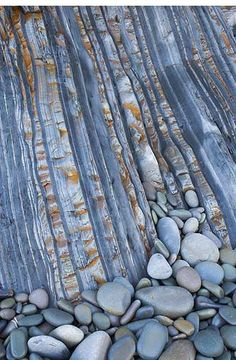 Pebbles and Strata by Colin Roberts Photography