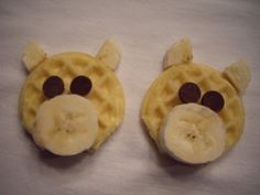 Fun Snacks 4 Kids: Pig Pancakes/Waffles. Great snack/breakfast to go with Charlotte's Web! Sonlight Core B