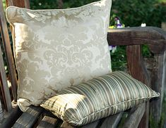 Custom Throw Pillows from Cushion Source Sewing Hacks, Sewing Projects, Sewing Tips, Small Pillows, Throw Pillows, Cushion Source, Large Sofa, Perfect Pillow, Kid Spaces