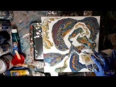Viewer Request - How to Varnish a Painting (after Dimethicone /Silicone is removed) - YouTube