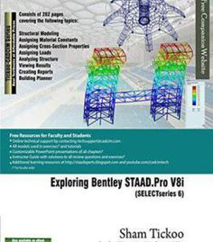Exploring Bentley Staad.Pro V8i (Selectseries 6) PDF