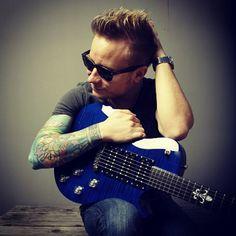 Zach Myers - Guitar World Photo Shoot 2012