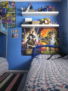 Star Wars U0026 Transformers... Bedroom ...