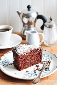 Chocolate Coconut Cake | Eat, Little Bird