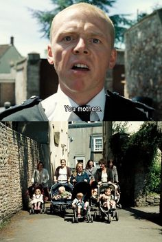 hot fuzz, so hilarious