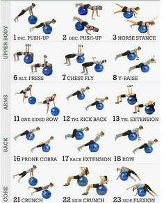 exercices swiss ball You are in the right place about Cardio Workout Gym plan Here we offer you the Fitness Workouts, Yoga Fitness, At Home Workouts, Swiss Ball Exercises, Stability Ball Exercises, Exercise Ball Exercises, Exercise Ball Routine, Workout Ball, Core Exercises