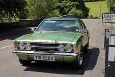A classic early 1970's Mk3 Ford Cortina GLX | I guess this a… | Flickr