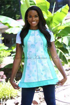 Art to wear asymmetrical tunic short dress