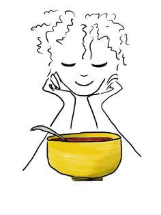 illustration by Sanne Boswinkel soup's on!  www.sannekookt.nl