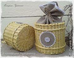 И снова здравствуйте, дорогие товарищи!:):) Долго думала, что же мне напоминают эти корзинки? Оказалось, хозяюшку из старинных сказок, в холщовом платье и чепце с кружевами:):) фото 3
