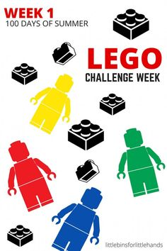 LEGO Building Challenge Week for 100 Days of Summer STEM-3