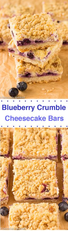Blueberry Oatmeal Crumble Bars | Blueberry Oatmeal, Easy Bar and ...
