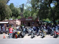 """THE ROCK STORE """"The most famous motorcycle hangout in Southern California."""" -LA.com  {If you love animals and would like to be a WhatCanWe.org supporter too, please visit www.whatcanwe.org}"""