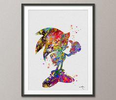 Hey, diesen tollen Etsy-Artikel fand ich bei https://www.etsy.com/de/listing/178784426/sonic-the-hedgehog-watercolor