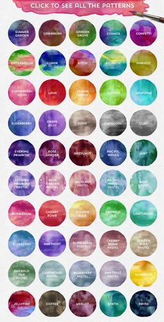 The Watercolor Branding Kit by MakeMediaCo. on Creative Market The Watercolor Branding Kit by MakeMediaCo. on Creative Market Pastel Watercolor, Watercolor Design, Watercolor Pattern, Watercolor Background, Watercolor Feather, Colour Pallete, Colour Schemes, Color Combos, Color Trends