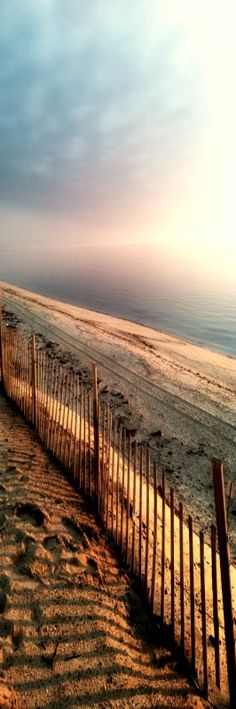Fence on the beach @ Provincetown