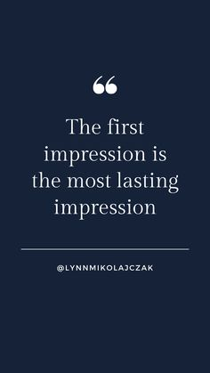 The first impression is the most lasting impression More workwear inspiration? Follow  @lynnmikolajczak on Instagram. Workwear Fashion, Working Woman, The One, Work Wear, Inspirational Quotes, Photo And Video, Instagram, Women, Style
