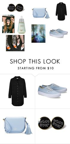 """""""Vegan? i dont think so"""" by nadaanja ❤ liked on Polyvore featuring Equipment, Kate Spade and SK-II"""