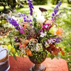 Gorgeous fall floral arrangement