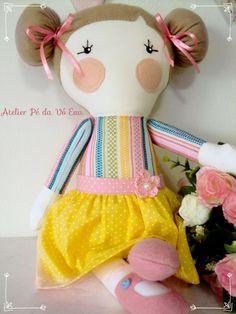 Boneca Atelier Pé da Vó Eva