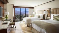 The Ritz-Carlton, Rancho Mirage - Select accommodations offer two beds and spectacular mountain views