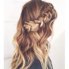 How gorgeous is this braid?! Love.  www.hellohair.com.au #haircrush #hairinspo…