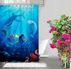 "New Design Cartoon Favorite Finding Dory Custom Shower Curtain 60"" x 72"" #Unbranded #Modern #Best #Design #Cheap #Gift #Beautiful #Showercurtain #Beautifulshowercurtain #cartoon"