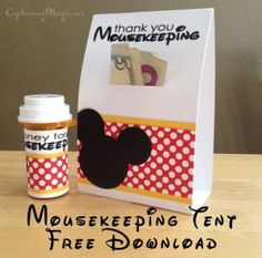 Creative Mousekeeping ideas for your tip!