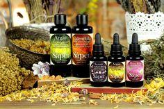 Aceites corporales y serums faciales de Saper, cosmética ecológica, organic skincare