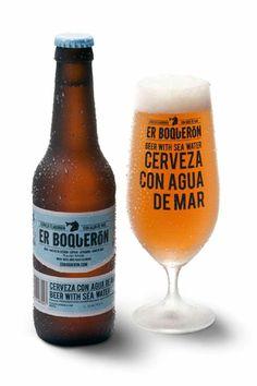 Er Boqueron - Beer brewed with sea water Beer Brewing, Home Brewing, Nano Brewery, Beer Factory, Craft Bier, Wine Lovers, Beers Of The World, Beer Brands, Beer Packaging