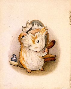 Happily Ever Tales: Beatrix Potter Review of Book Twenty-Two: Appley Dapply's Nursery Rhymes