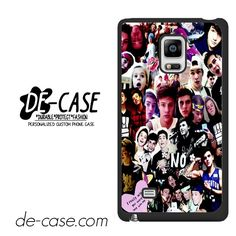 Magcon Collage DEAL-6780 Samsung Phonecase Cover For Samsung Galaxy Note Edge