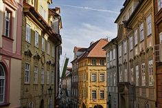 Prague,  LOVED the shopping as a young woman...