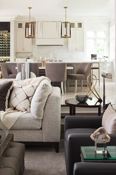 This Interior Design Project Is Located In Oakville On Belair Drive We Redesigned Rooms