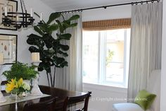 Love the curtains and the matchstick blind! classic • casual • home