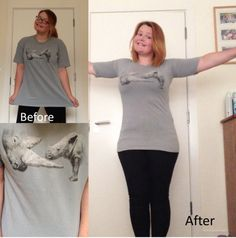 refashion make a large -shirt smaller. This girl has tons of good refashions 0dfd9f0d95