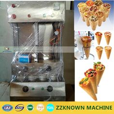 1836.06$  Buy here - http://alikdo.worldwells.pw/go.php?t=32714072681 - Snack Machine/ Pizza cone mould machine / 4 cones Pizza cone machine