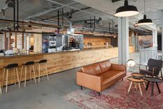 """this is too far down the """"cold, clinical industrial"""" rabbit hole but the space itself reminds me of the new space."""